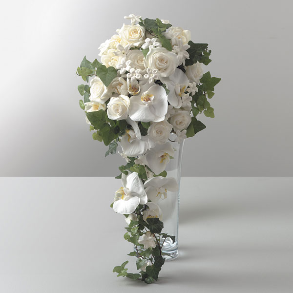 Tims Touch Flowers Gifts Cascading Beauty Bouquet