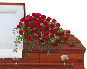 Simply Roses Supreme Casket Spray