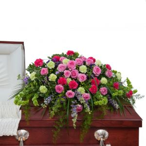 Forever Cherished Casket Spray