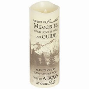 Beautiful Memories Candle Lrg