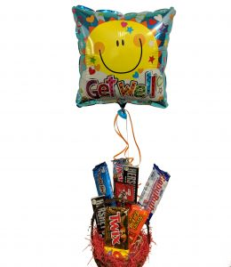 Get Well Candy Basket