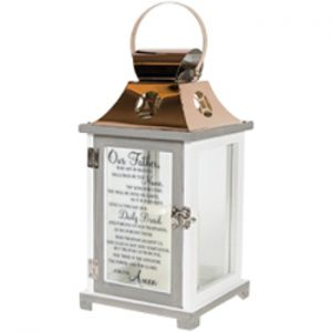 Lord's Prayer Lantern Med