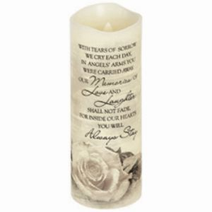 Angles' Arms Candle Lrg